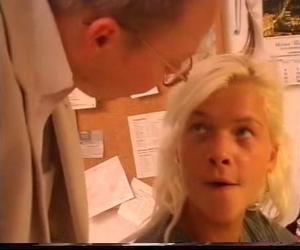 Sexy Student mit ihrem Lehrer