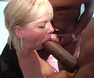 milf frau amateur frau blonde süße cock sucker