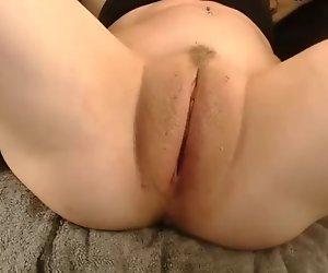 Dick Geschwollen Fat Pussy Lippen gefickt mit dildo
