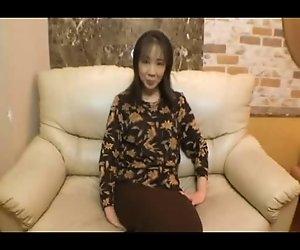 40yr ein altes japanisches Frau Liebt 2B Rahmspinat (Unzensiert)