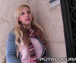 PutaLocura Torbe nimmt ein cute amateur blonde ficken