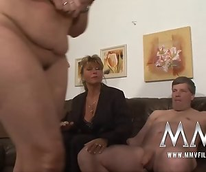 MMV-Filmen deutschen Reife Hausfrau gefickt
