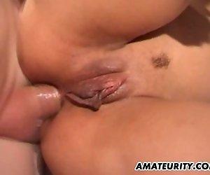 Französische amateur Freundin anal action mit facial