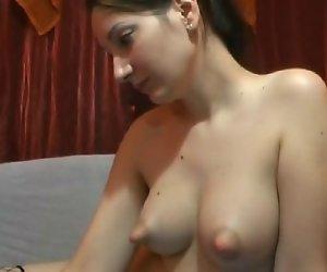 Webcam geschwollenen Brustwarzen (KEIN TON)