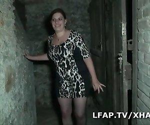 BBW libertine francaise defoncee dans une Höhle