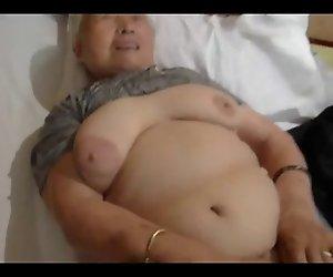 80yr alten japanischen Oma Noch Liebt zu Ficken (Unzensiert)