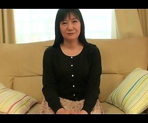 55yr alte Oma Natsu Sasamoto Creampied wieder (Unzensiert)