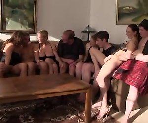 Deutsche amateur Orgie