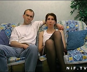 Französisch redhead bekommt doppelte penetration