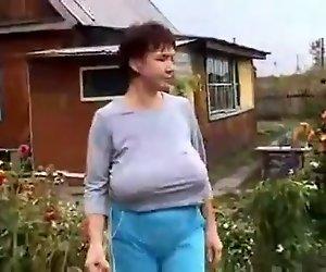 saggy, die von Russischen
