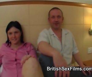 Mollige Frau gefilmt wird zum ersten mal