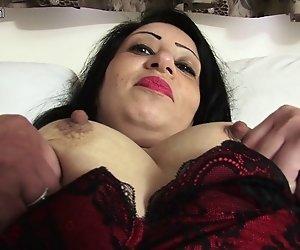 Hot arabischen britischen MUTTER immer nackt und frech